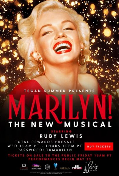 Marilyn! The Musical buy show tickets online