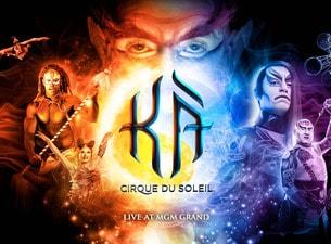 KA by Cirque du Soleil Show tickets online