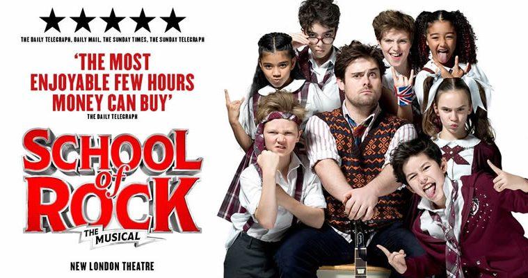 School of Rock show tickets buy online