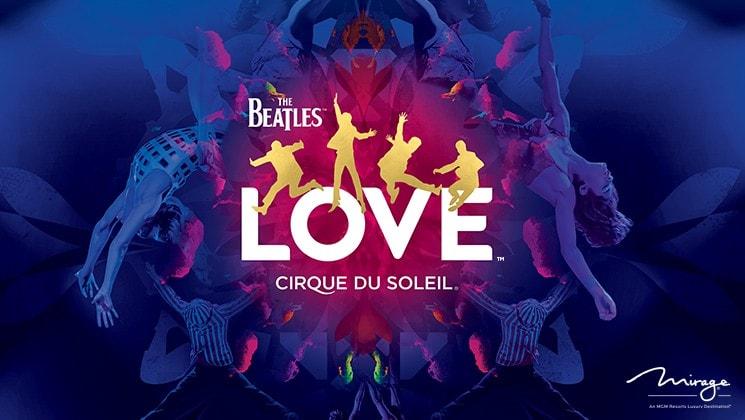 The Beatles LOVE by Cirque du Soleil show tickets online