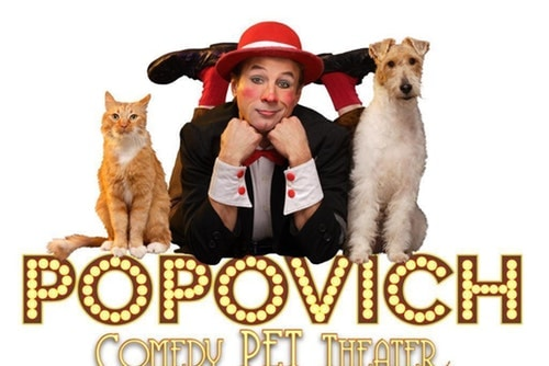 Gregory Popovich's Comedy Pet Theater Tickets Las Vegas