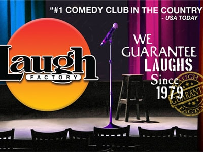 Laugh Factory Tickets Online in Las Vegas