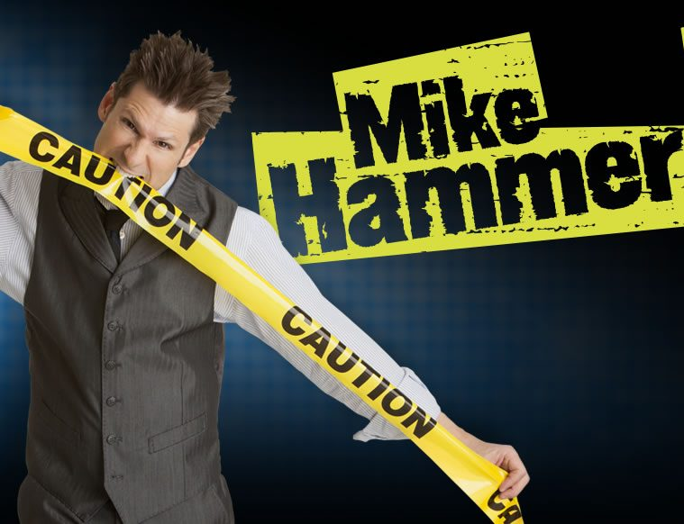 Mike Hammer Comedy Magic Tickets