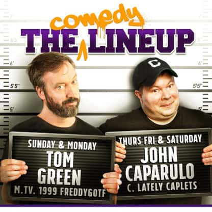 The Comedy Lineup Tickets Online