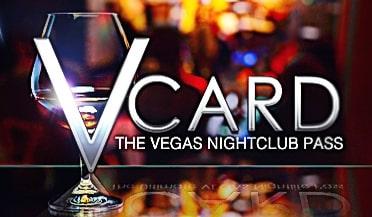 V Card The Vegas Nightclub Pass