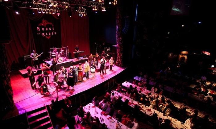 World Famous Gospel Brunch At House Of Blues in Las Vegas