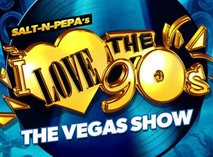 I love the 90's tickets las vegas